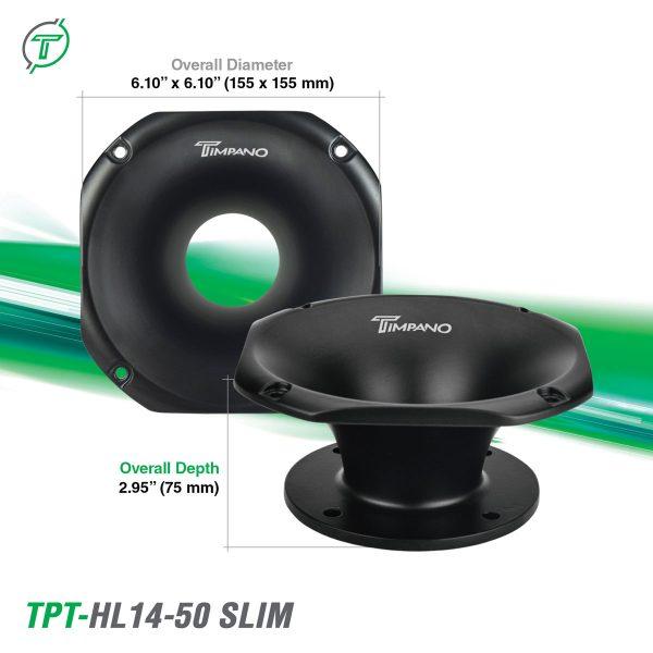 TPT-HL14-50-Slim---Dimensions