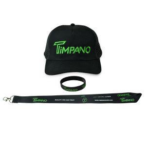 Timpano-Hat+Lanyard+Bracelet