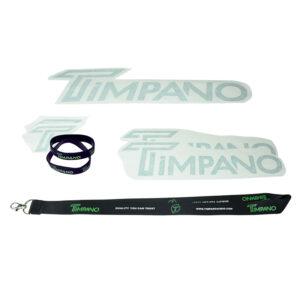 Timpano Sticker Package