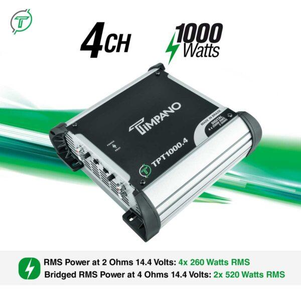 TPT-1000.4---2-Ohms---Channel-+-Power
