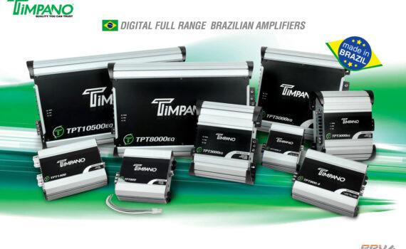 Timpano Amplifiers