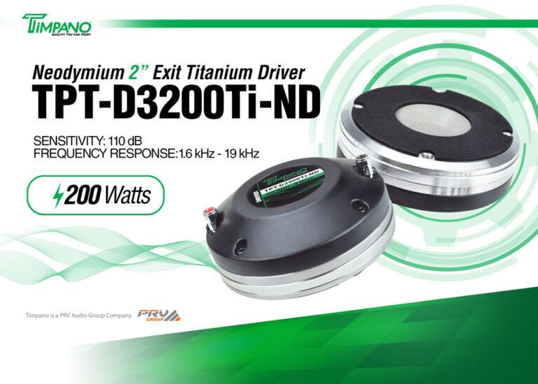 TPT-D3200Ti-ND