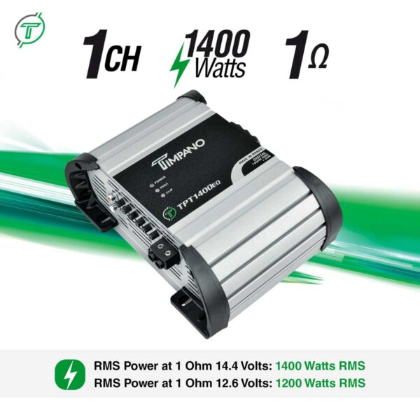 TPT-1400EQ---1-ohm---Channel-+-Power-+-Impedance