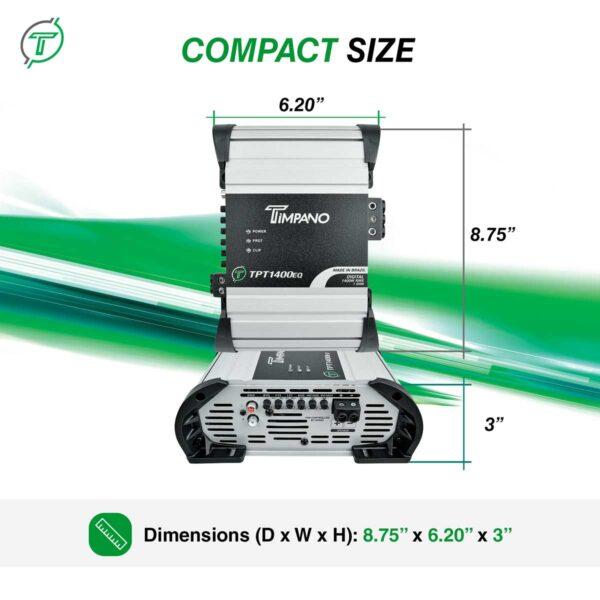 TPT-1400EQ---1-ohm---Compact-size
